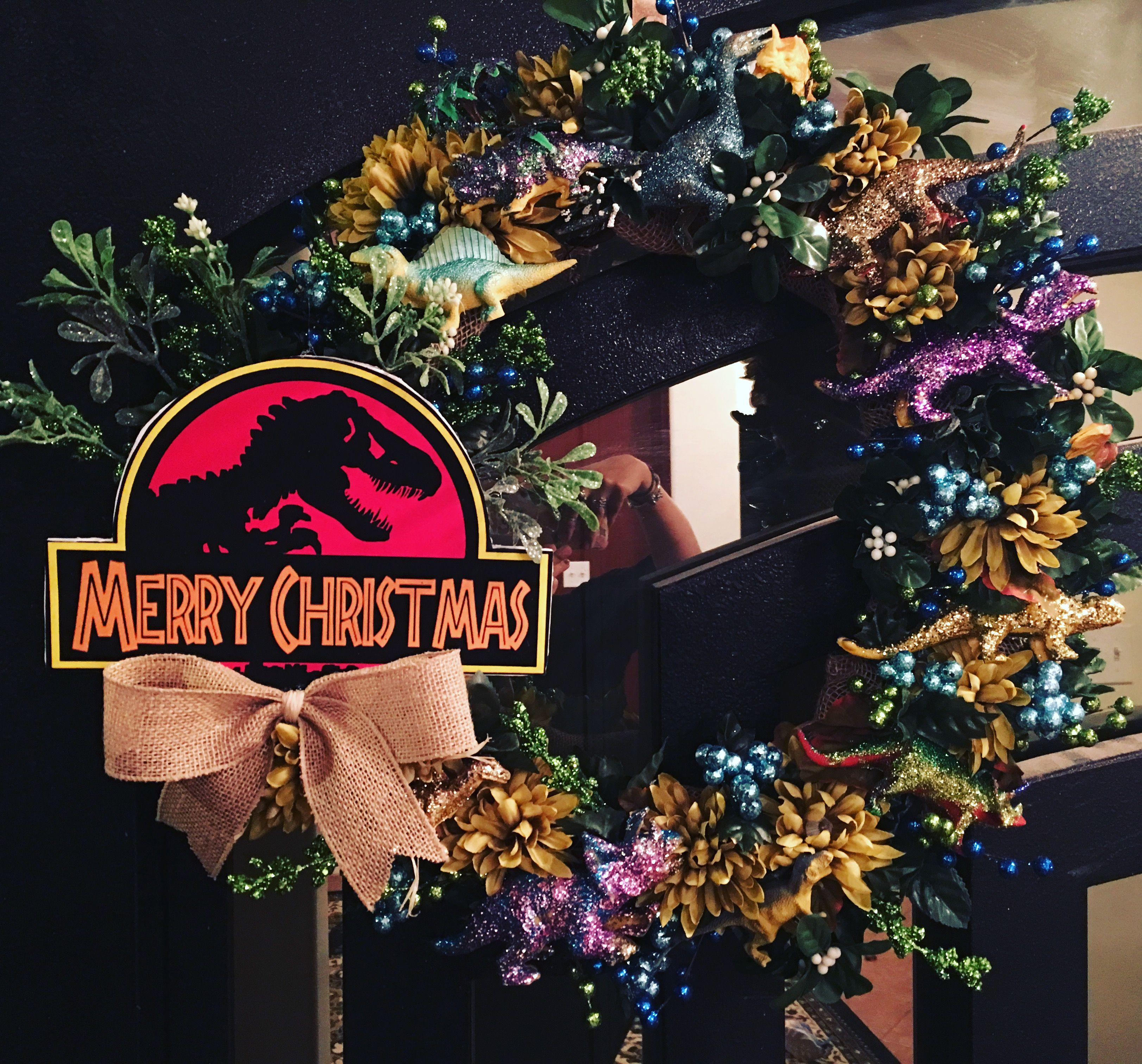 Jurassic Park themed Christmas! | Improved by Dinosaurs ...