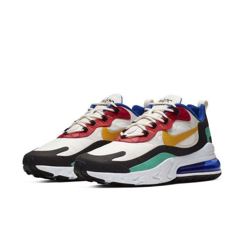 Nike Air Max 270 React (Bauhaus Art) Men's Shoes - Cream ...