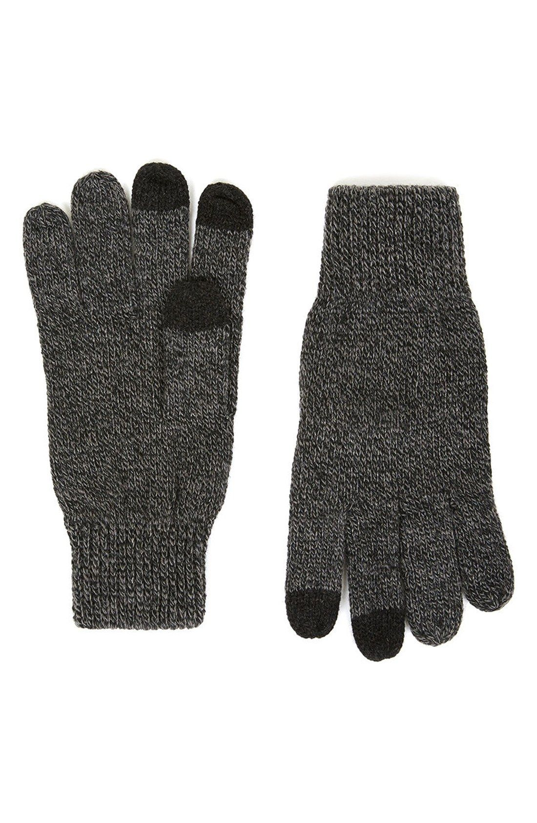 Mens gloves topman - Topman Knit Tech Gloves
