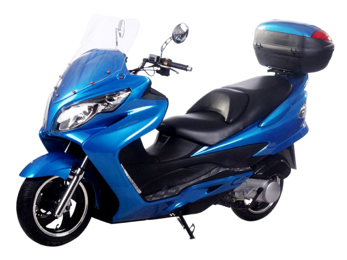 Sco029 150cc Scooter With Automatic Transmission Front Disc Rear Drum Brake 10 Tires Scooter 150cc Scooter Mopeds For Sale