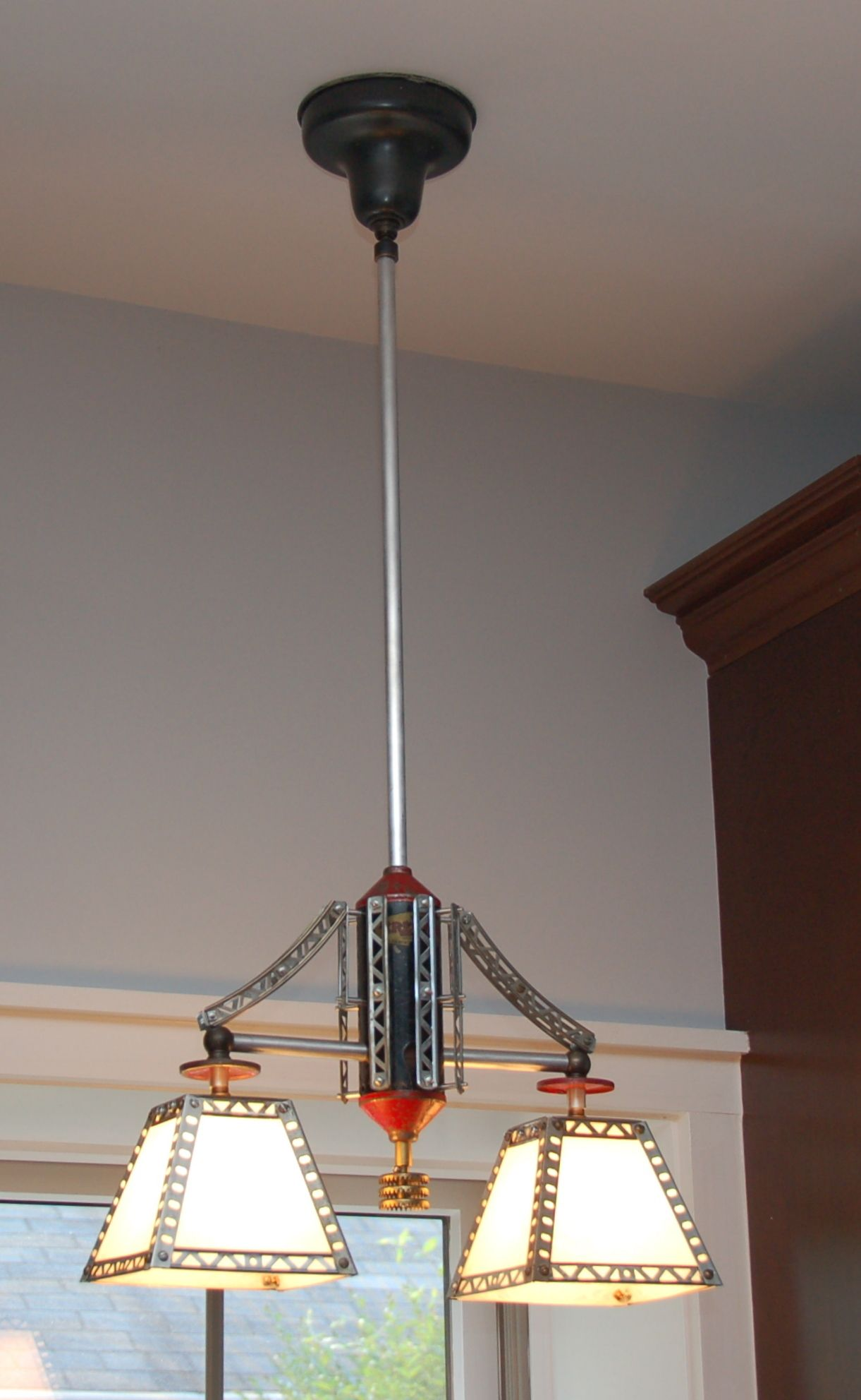 Erector Set Pendant By Rick Singleton Lighting Also Familiar