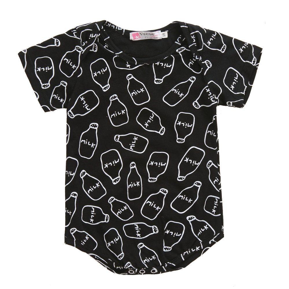 1fcdf040548 Jewby Newborn Baby Boys Girls Bowtie Short Sleeve Romper Bodysuit Playsuit  Outfits (3-6Months