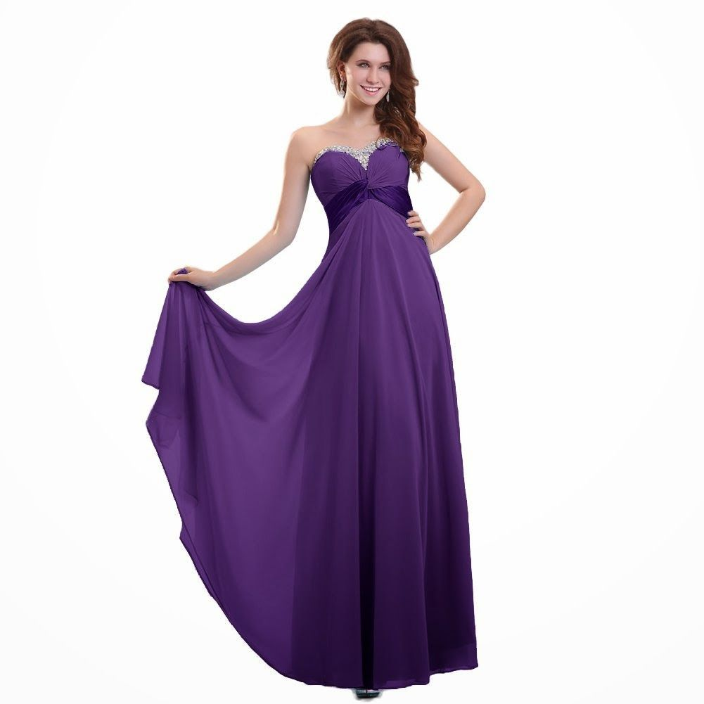Dark Purple Bridesmaid Dresses | fashjourney.com | Purple Bridesmaid ...