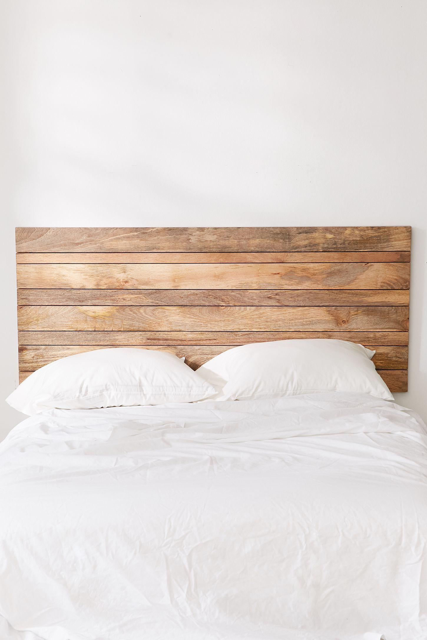 Slide View 3 Slatted Wooden Headboard Wood Headboard Bedroom