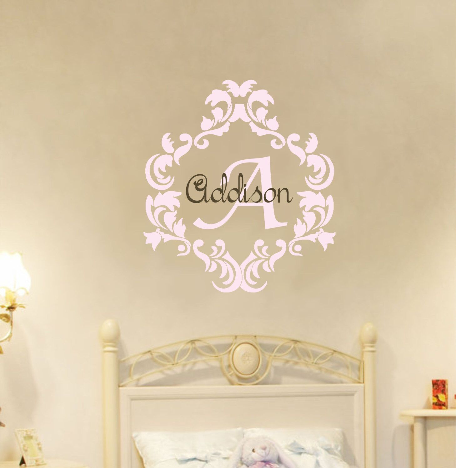 Custom Vinyl Wall Decals Damask Custom Vinyl Decals - Custom vinyl wall decals nursery