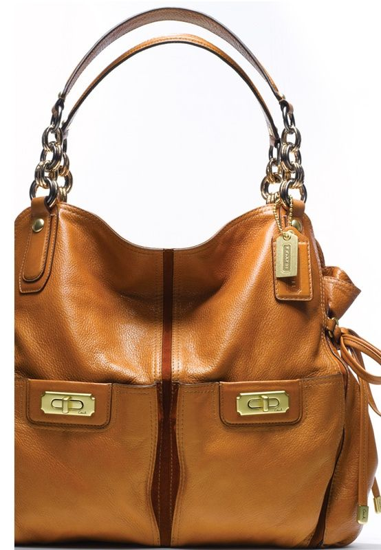 83a91ec76b05 Coach - this cognac color is casul perfection. | Pursenality in 2019 ...