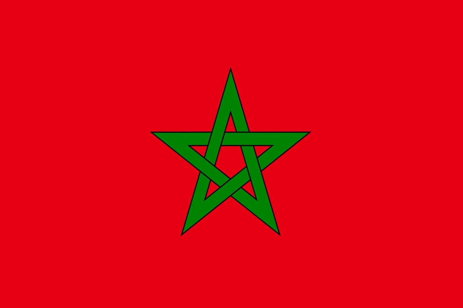 Flag of Morocco wallpaper | Flags wallpaper | Pinterest