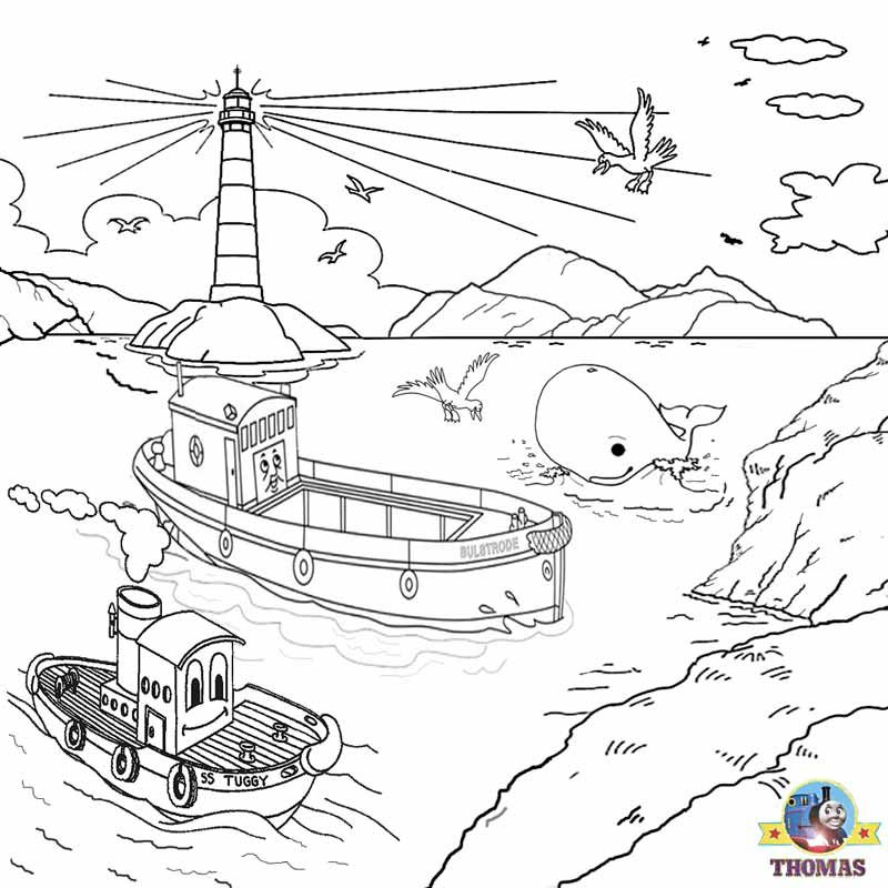 Island In The Water Drawing At The Island Of Sodor