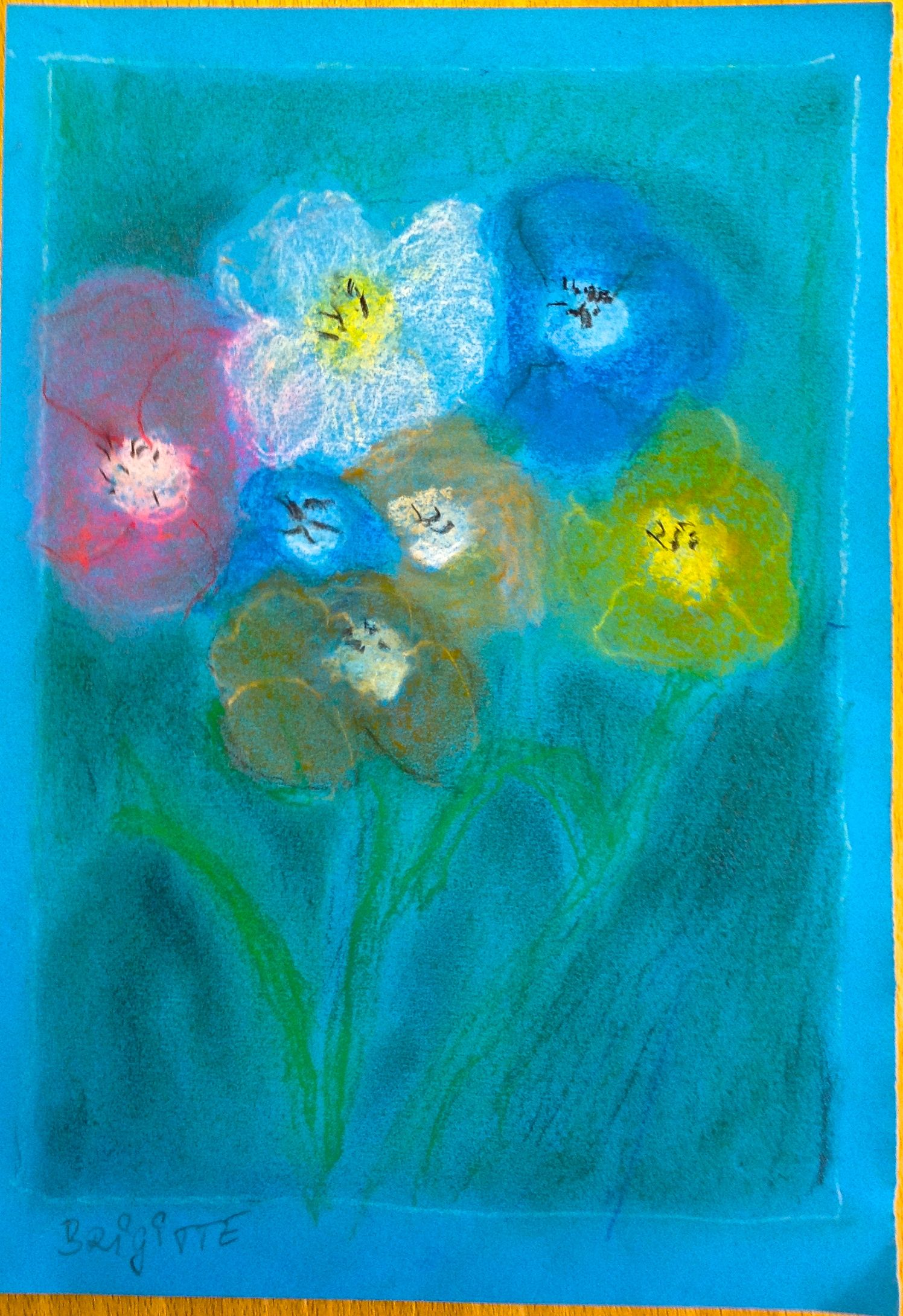 Blumenstrauß (Flowers) - Brigitte
