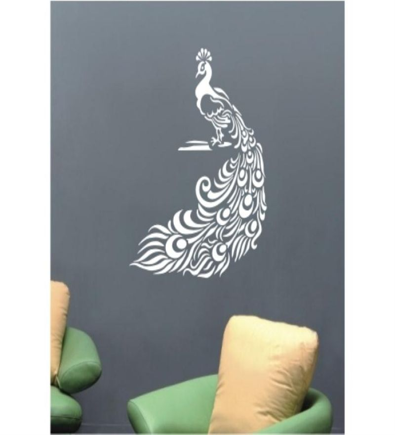 Decal Style Peacock Wall Decal| Decal Style | Wall Stickers | Home Decor |  Pepperfry Part 34