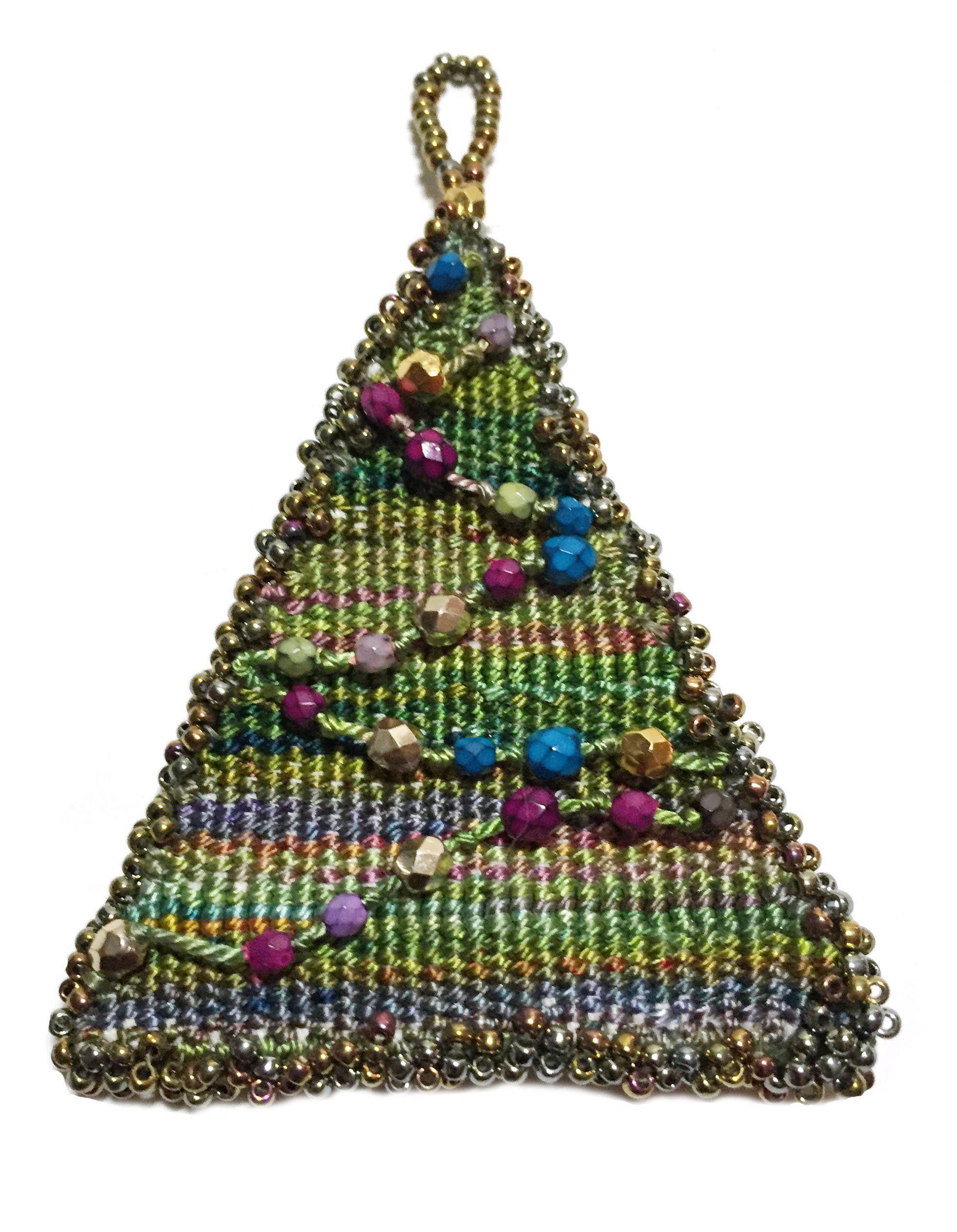 Winter tree: bead weaving 97