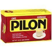 CAFE PILON ESPRESSO COFFEE 10 OZ .