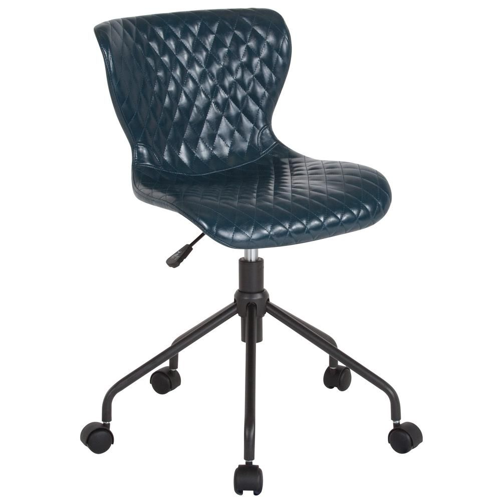Groovy Flash Furniture Blue Vinyl Office Desk Chair In 2019 Ocoug Best Dining Table And Chair Ideas Images Ocougorg