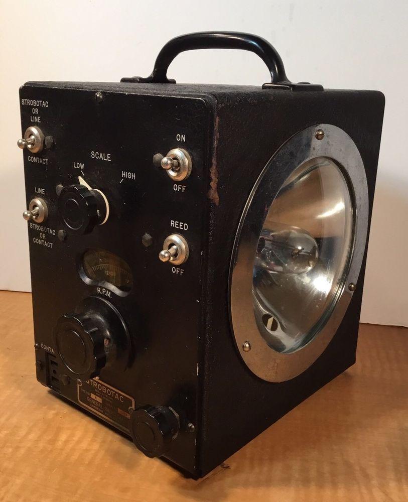 RARE1935 Vintage General Radio Strobotac Scientific Pulse