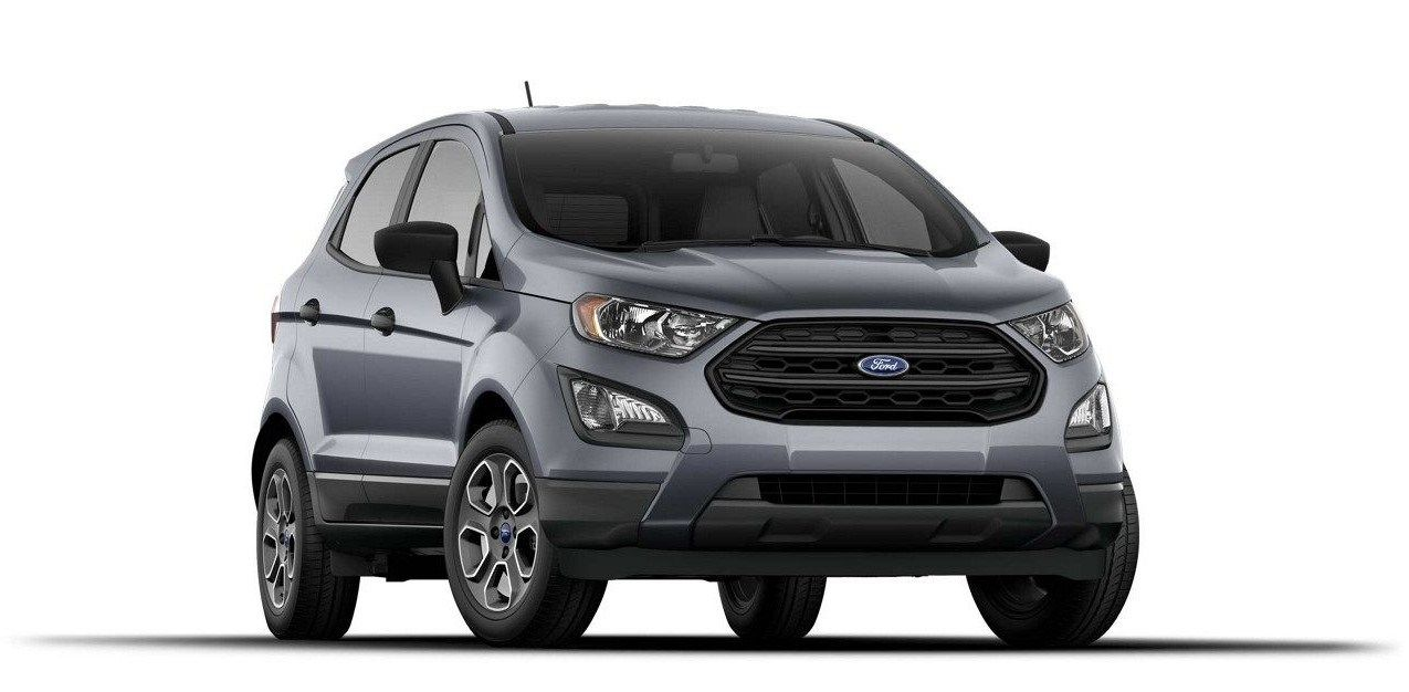 The Ford Ecosport Might Be As New As Baby Groot To The American Customers But It S Been Around For Quite Some Time The P Ford Ecosport 2019 Ford Ford Courier