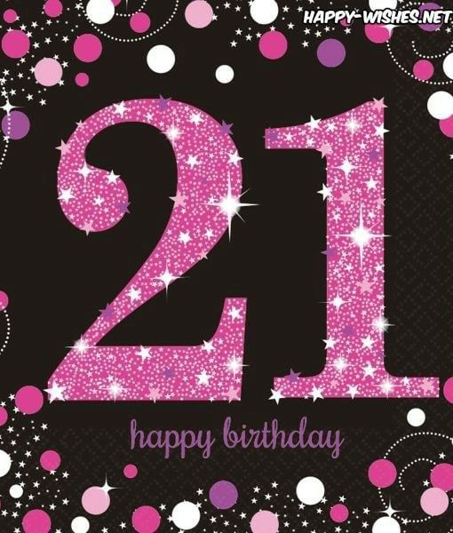 Happy 21st Birthday Daughter Quotes Cards 21