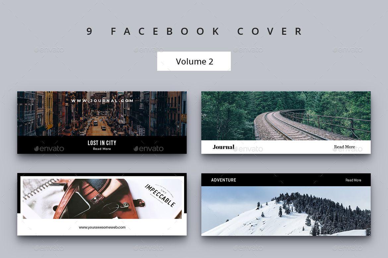 Facebook Cover Vol. 2 Facebook cover, Instagram template