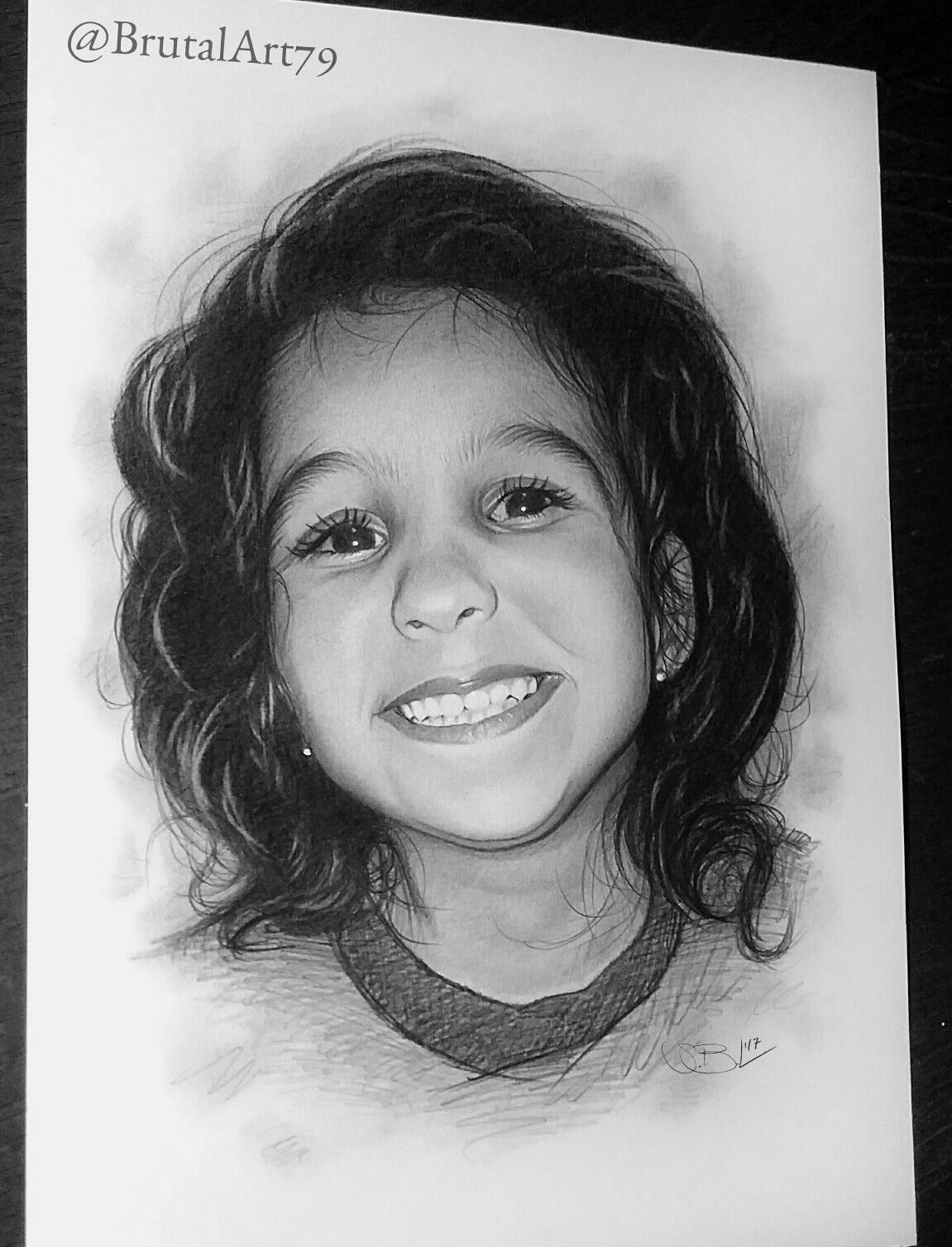 Baby Portrait Drawing...