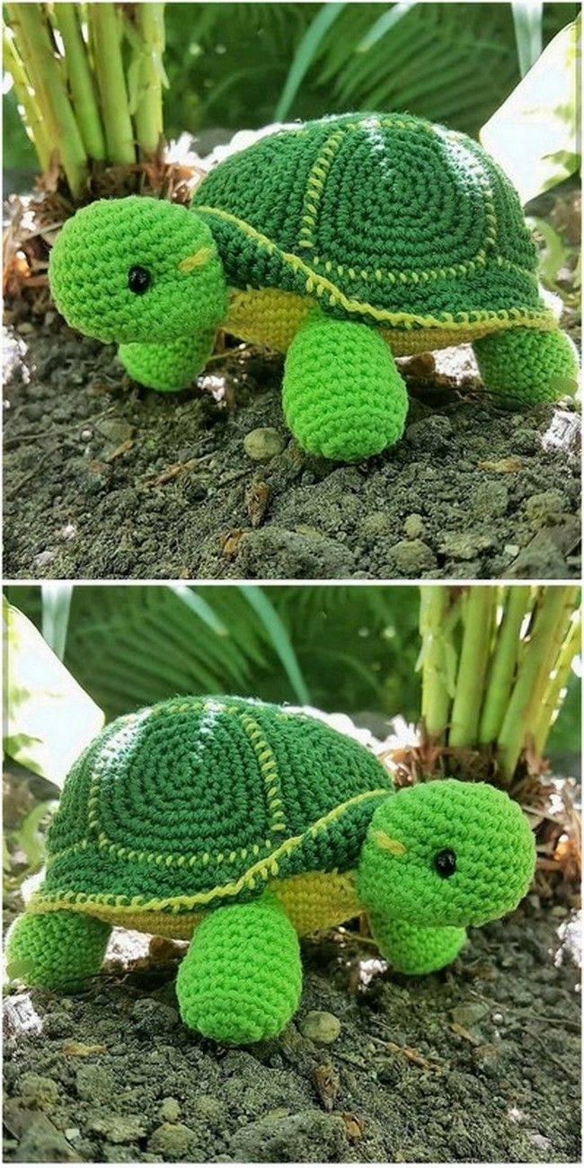 Simple Yet Attractive Crochet For Various Projects #crochetturtles