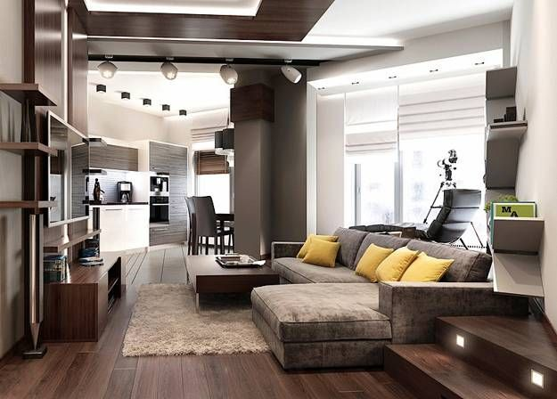 20 elegant masculine interior design ideas small - Apartment ideas for guys ...