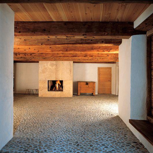 RUCH \ PARTNER ARCHITEKTEN AG Projekte Chesa Andrea, Madulain - interieur design ideen gemeinsamen projekt