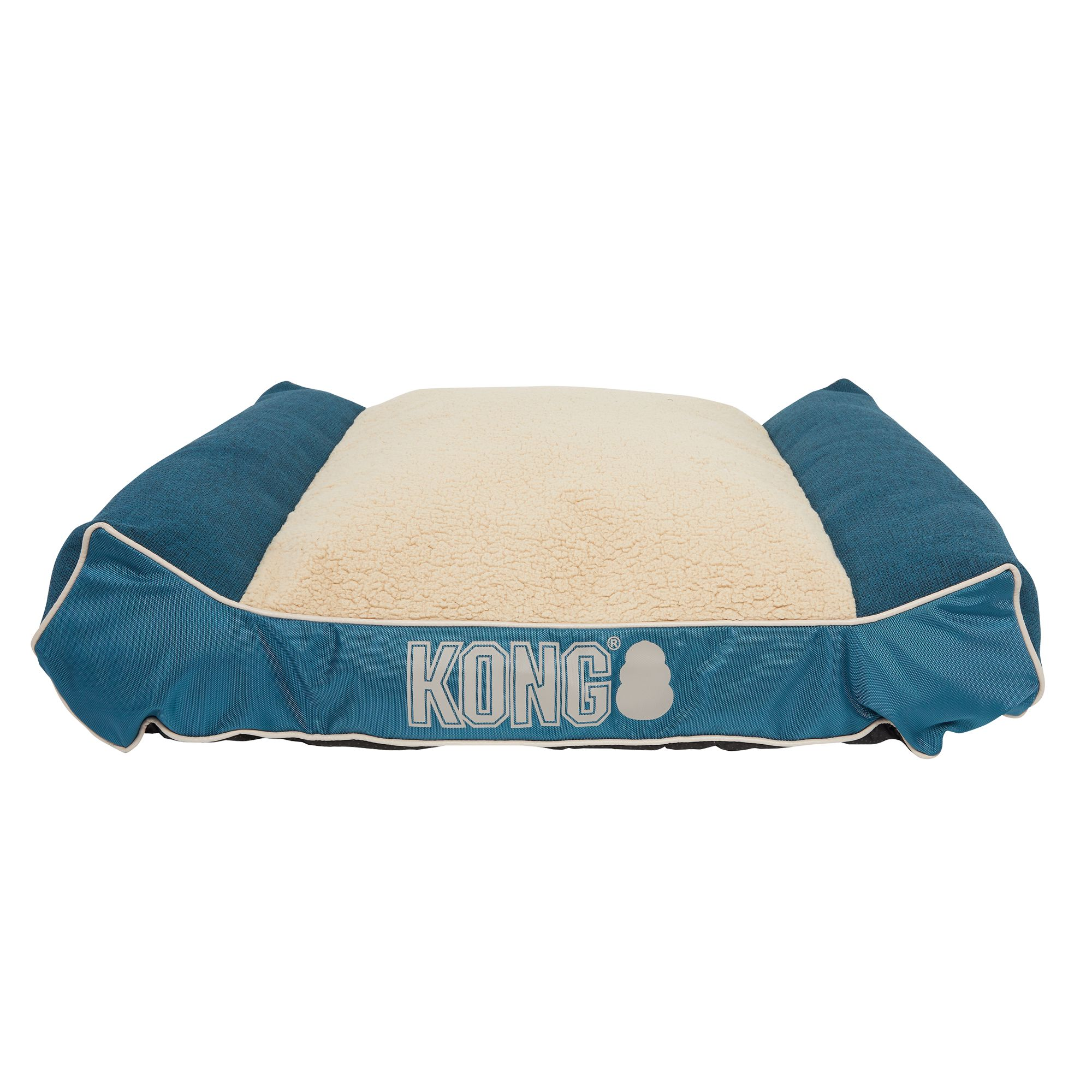 KONG® Lounger Dog Bed Dog pillow bed, Dog bed, Bed pillows