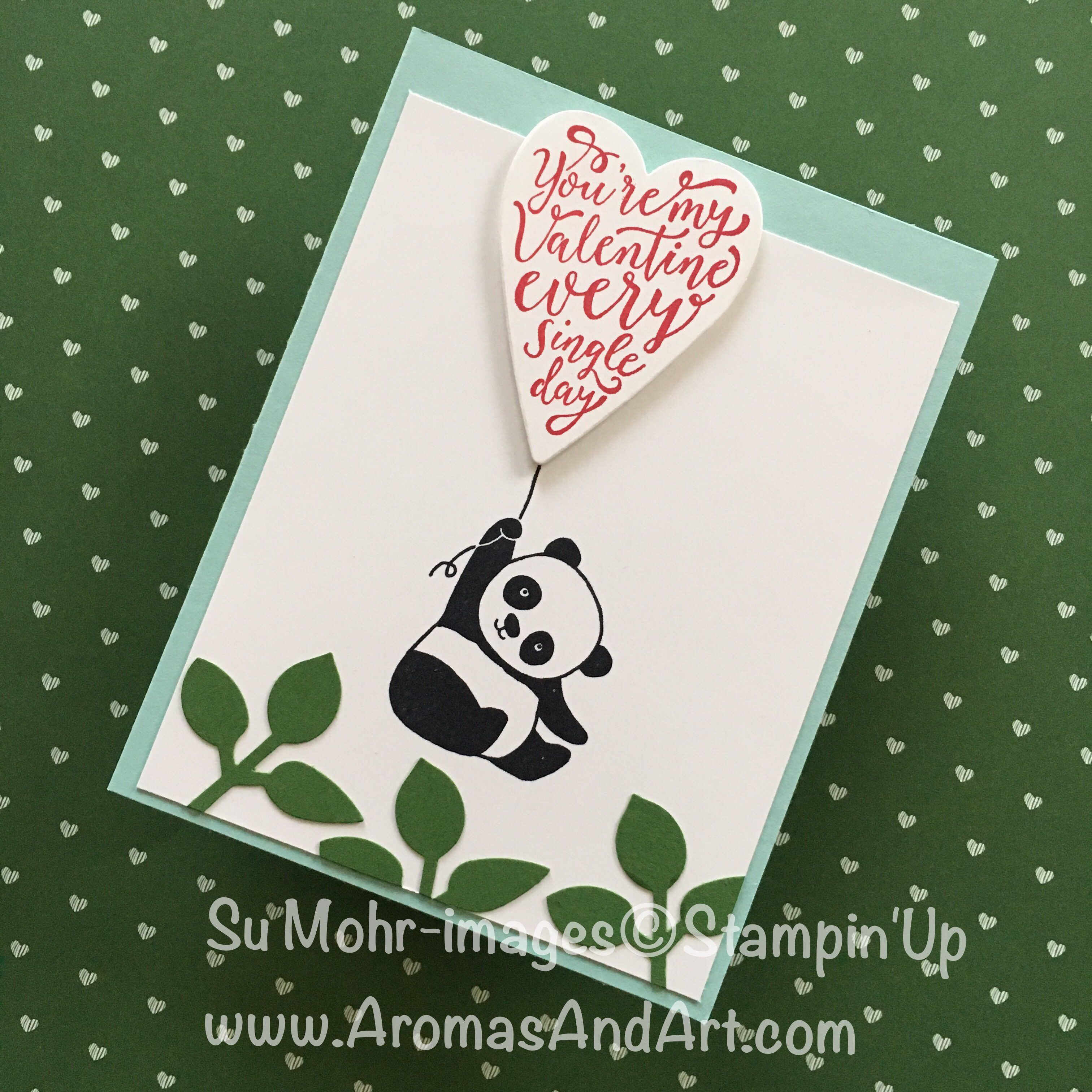 Party Panda Makes Quick And Easy Valentine