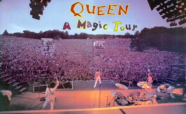 Queen A Kind Of Magic World Tour A Kind Of Magic Queen Ii Queen