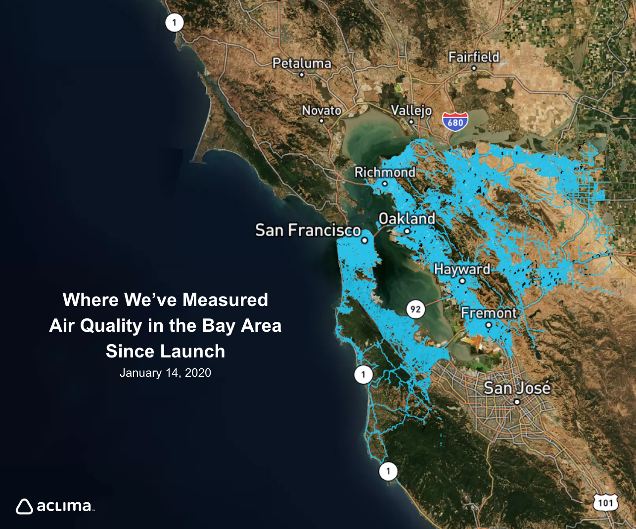 Mapping Air Quality and Greenhouse Gases on Every Block in