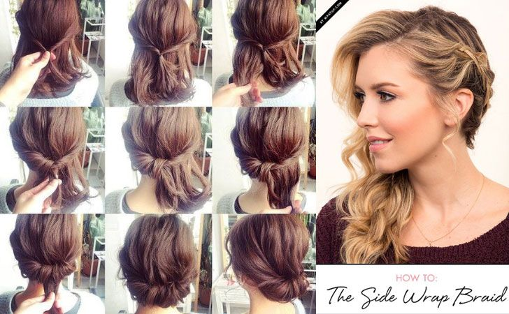 60 Easy Step by Step Hair Tutorials for Long, Medi