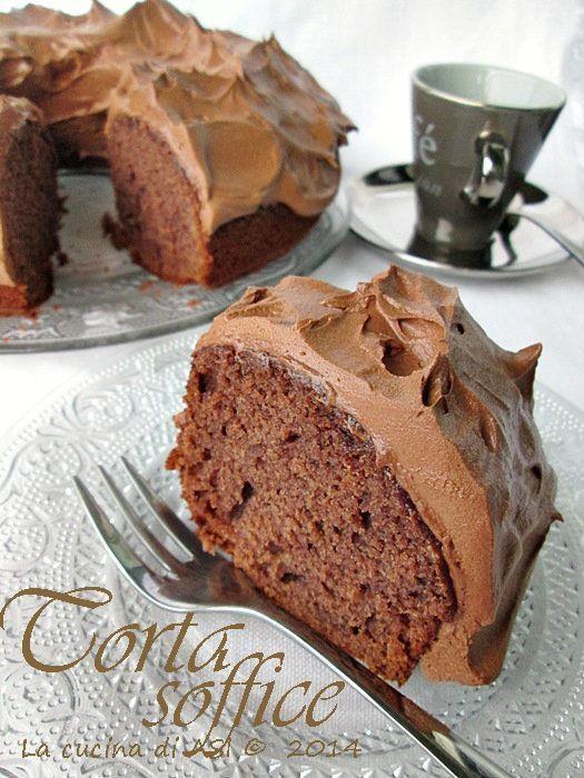 Una torta soffice ben lievitata davvero buonissima che è stata tanto apprezzata dai miei commensali Ricetta torta La cucina di ASI