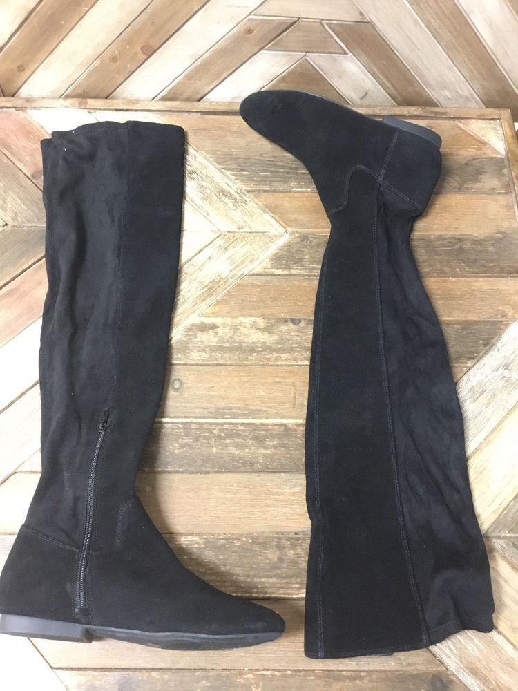 12455d94a15 Lucky Brand Women Gavina Over The Knee Boot  Size 8M  Black       fashion   clothing  shoes  accessories  womensshoes  boots (ebay link)