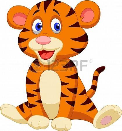Cute Tiger Cartoon Cartoon Tiger Cartoon Posters Cute Tigers