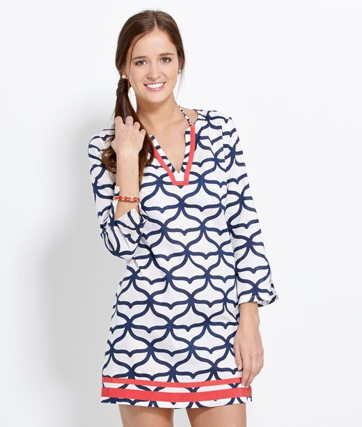 129ba777e22c Tunic Tops for Women  Shop Vineyard Vines for the Whale Tail Tunic ...