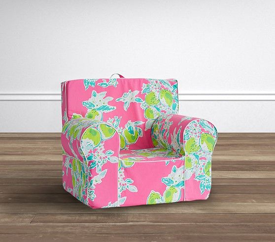 My First Lilly Pulitzer Pink Lemonade Anywhere Chair