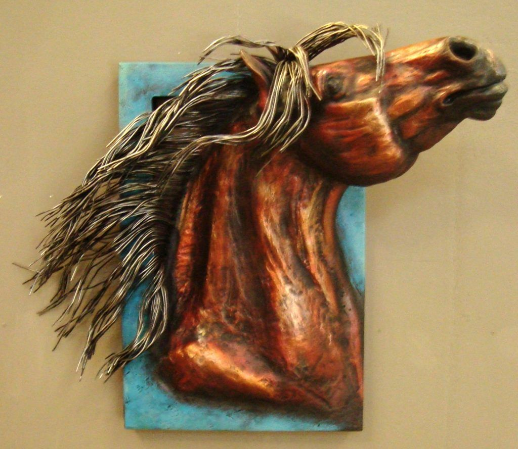 3d horse wall art western rustic wall decor pinterest our horse wall art features a rearing bays head hand cast of resin with a metal frame wire mane hand painted amipublicfo Gallery