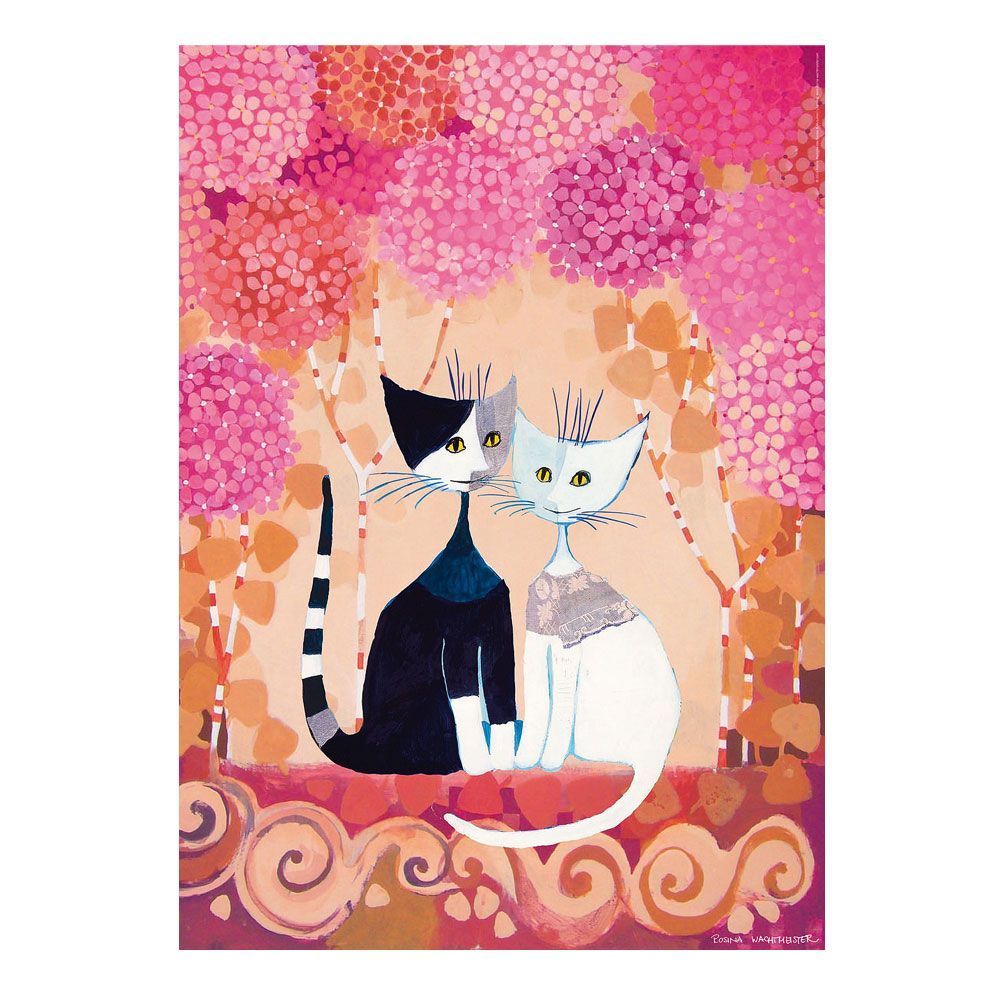 rosina wachtmeister jigsaw puzzle romance 1000 pieces the official online shop cats. Black Bedroom Furniture Sets. Home Design Ideas