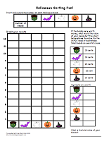 Here's a Halloween themed sorting, counting, graphing, and