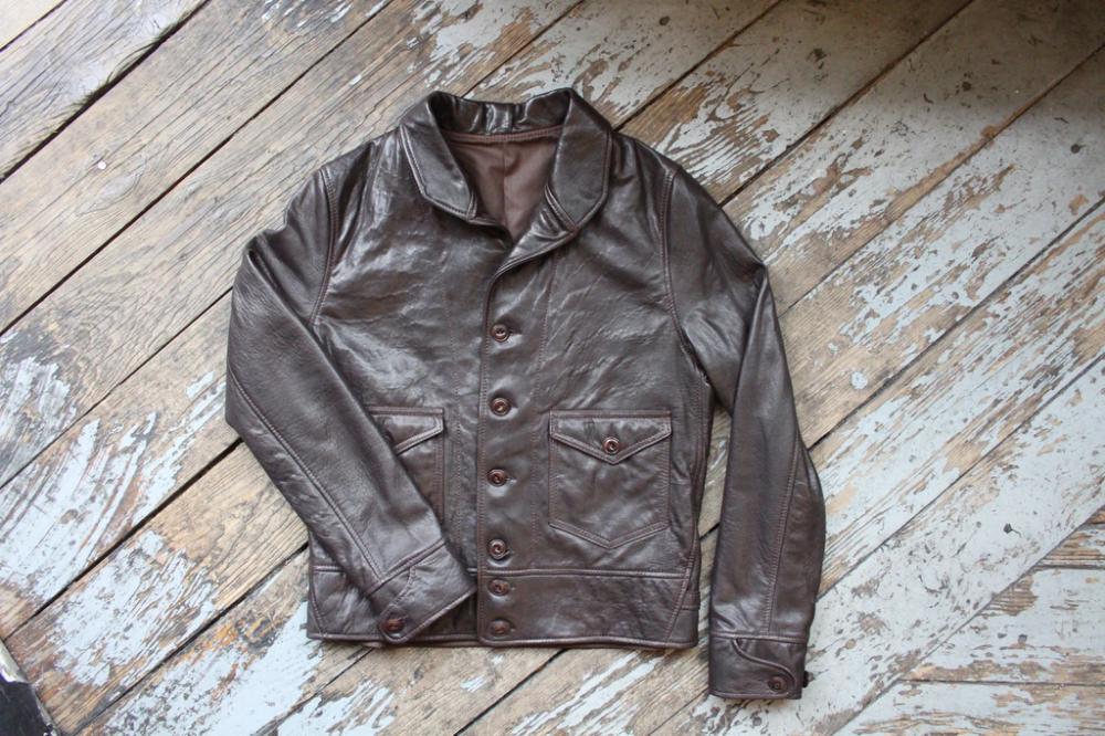 Bill Kelso Cossack Capeskin Leather Jacket Leather Jacket Jackets Leather Jacket Men