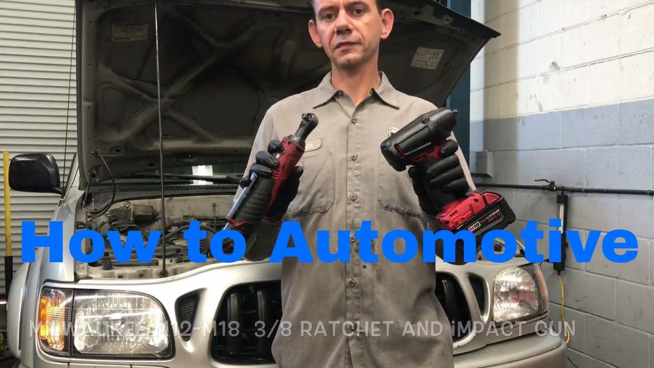 How to use Milwaukee's 3/8 M12 Ratchet and 3/8 M18 Fuel