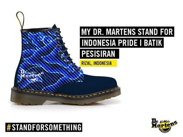 Desain Sepatu Batik Pesisiran Mega Mendung Sepatu Desain Sisir