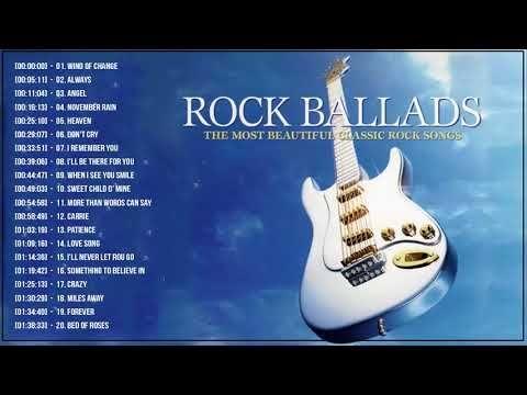 Best Rock Ballads 70s 80s 90s
