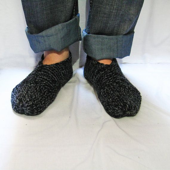 This Listing Is For The Pattern To Knit These Warm Comfy Slippers