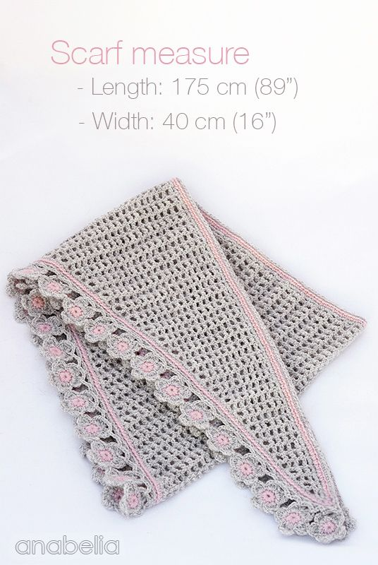 A crochet version of the \'Baktus Scarf\'. It is a little lighter and ...