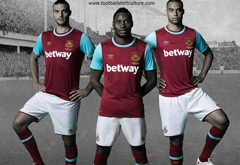 de586692493 West Ham United 15 16 Umbro Home Football Shirt
