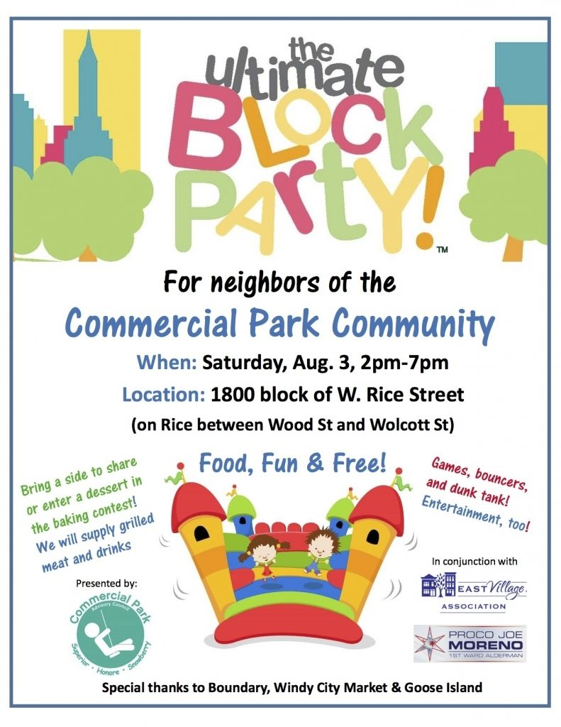 image result for block party flyer template free hoa in 2018