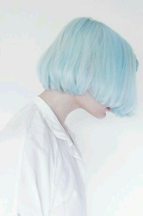 Light Blue Hair Styles Short Hair Color Short Hair Styles