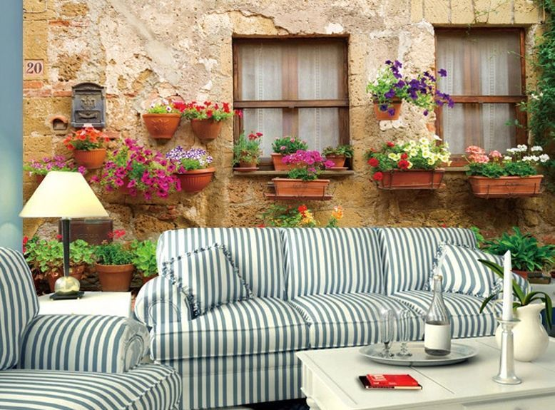 3D Topf Fenster Fototapeten Wandbild Fototapete Bild Tapete Familie Kinder de.picclick.com