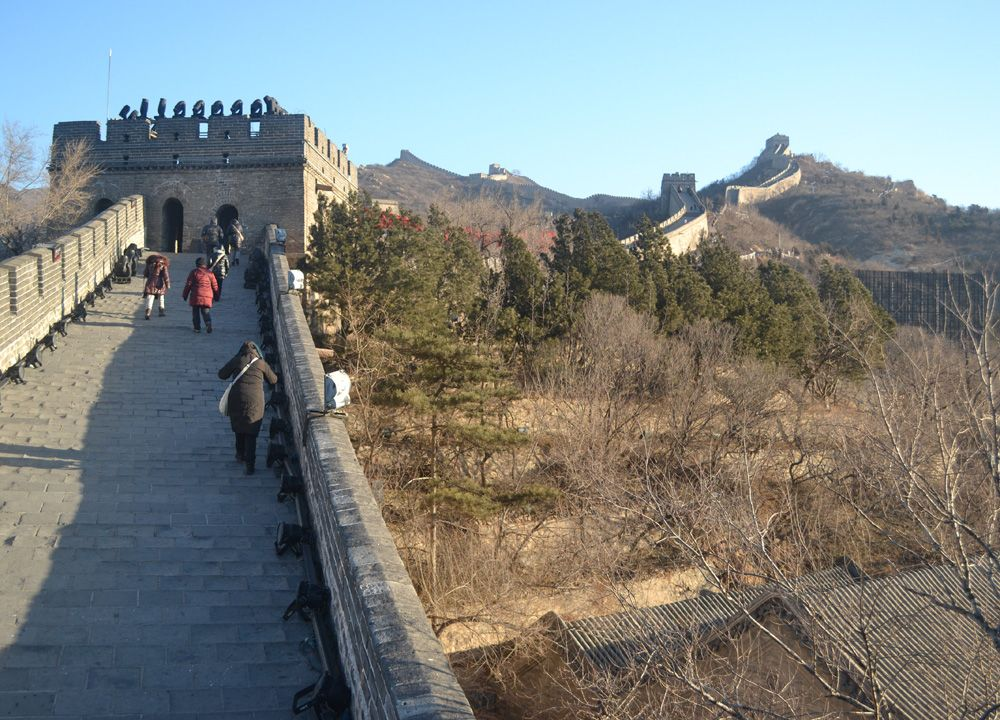 Photos: China's Great Wall as curbs lifted in COVID-19 ... |Great Wall Badaling Weather