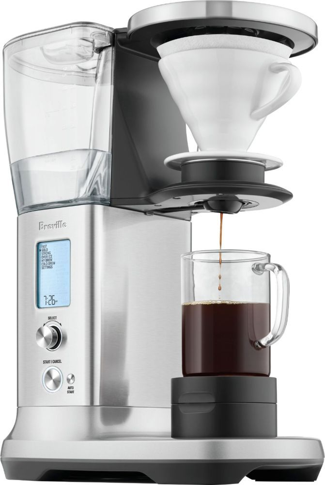 Breville The Precision Brewer Thermal 12 Cup Coffee Maker Brushed Stainless Steel Thermal Coffee Maker Coffee Maker Coffee Maker Reviews